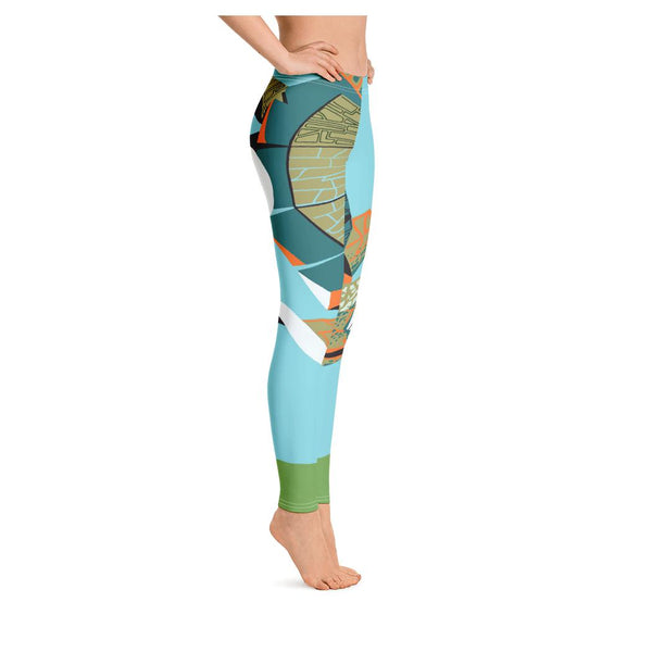 Galapagos Leggings, Leggings- WhimzyTees