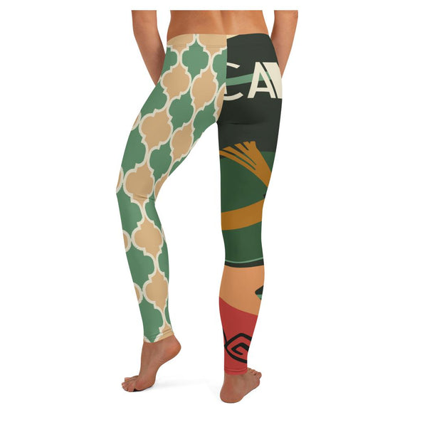 Cafe Deluxe Leggings - WhimzyTees