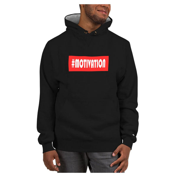 Hashtag Motivation Hoodie (Champion), Hoodie- WhimzyTees