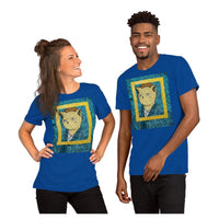 Angry Cat Tee, Tee- WhimzyTees