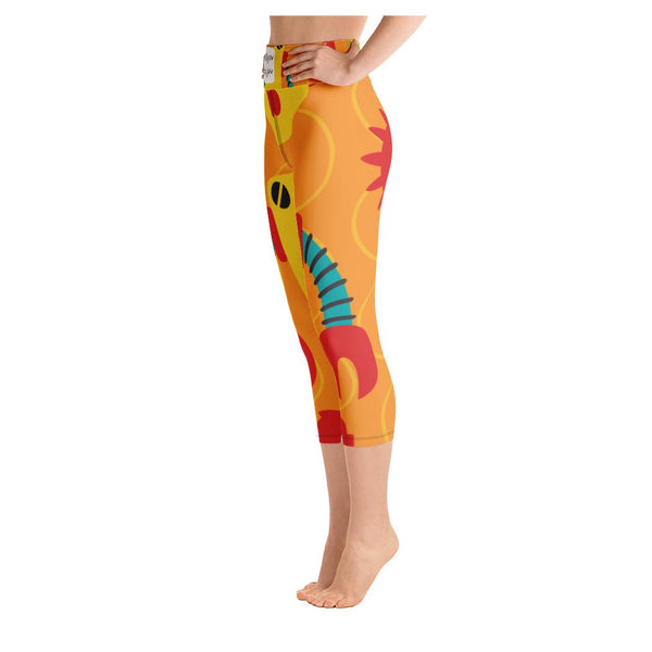 Simeon Yoga Capris, Leggings- WhimzyTees