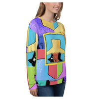Tahiti Girl Calypso Sweatshirt - WhimzyTees