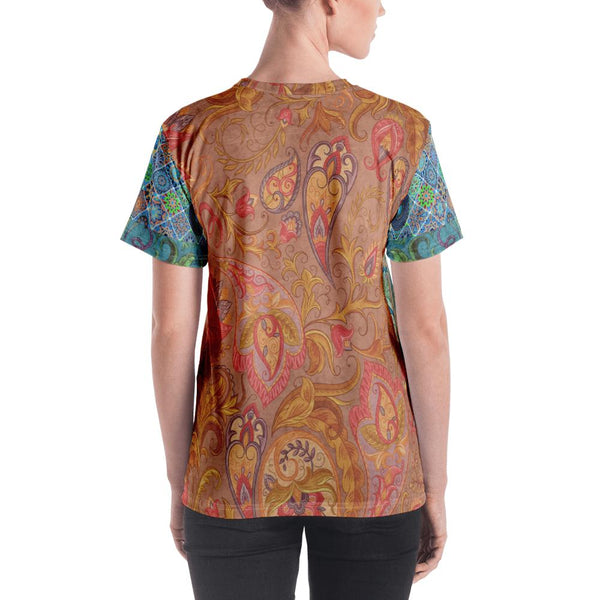 Morning Glory AOP Tee - WhimzyTees
