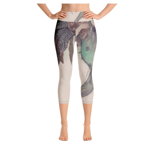 Fragility Fairy Capris, Capris- WhimzyTees