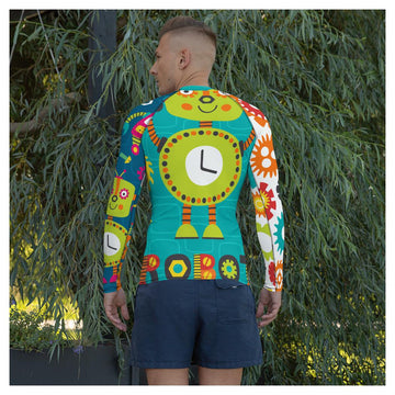 Timmy Robot Rash Guard