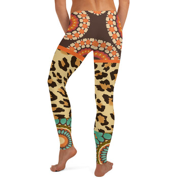 Divine Durga Leggings