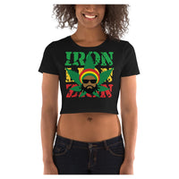 Sativa Man Crop Tee (type3), Crop Top- WhimzyTees
