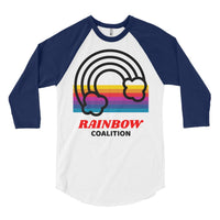 Rainbow Coalition Baseball Tee, Baseball Tee- WhimzyTees