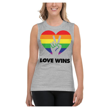 Love Wins Muscle Shirt