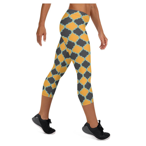The Cubist Capris, Capris- WhimzyTees