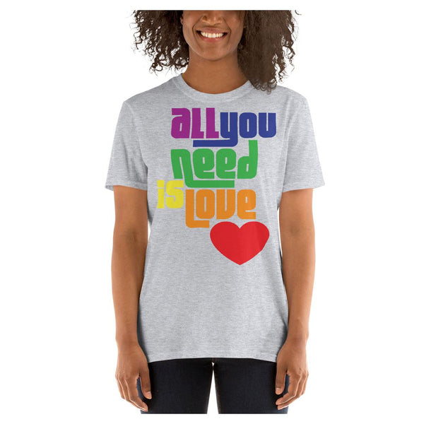 All You Need is Love Tee, Tee- WhimzyTees
