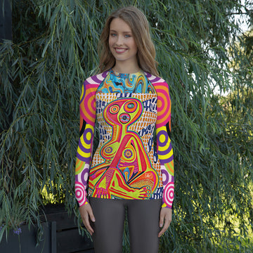Limited Edition | Art | Mr Hydde - Prayer in the Dark Rash Guard (Ladies)