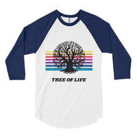 Tree of Life Baseball Tee, Baseball Tee- WhimzyTees