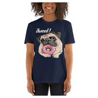 Sweet Puggy Tee, Tee- WhimzyTees