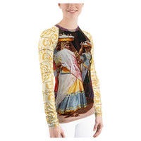 Temple Dance Rashguard, Rashguard- WhimzyTees