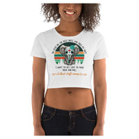 Elephant Beat Crop Tee - WhimzyTees