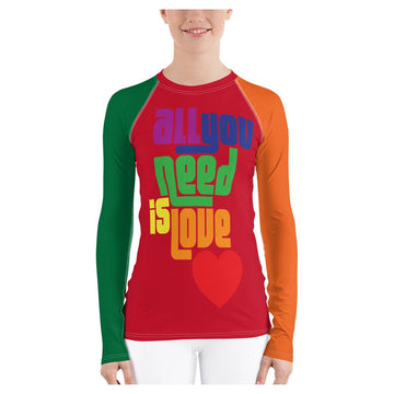 All You Need is Love Rash Guard