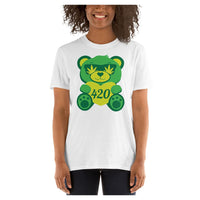 Green Bear Tee, Tee- WhimzyTees