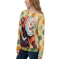 Court Jester Sweatshirt (Russet), Sweatshirt- WhimzyTees