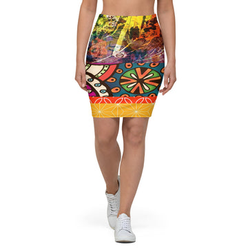 Sad Day Pencil Skirt