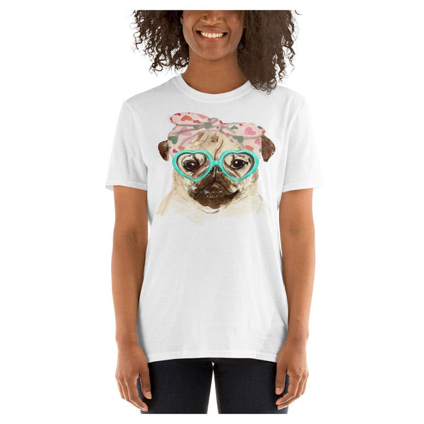Little Miss Puggy Tee - WhimzyTees