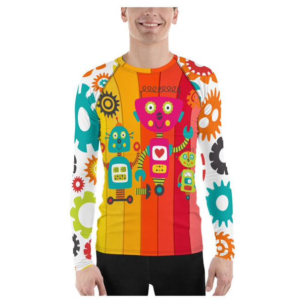Robot Family Rash Guard - WhimzyTees