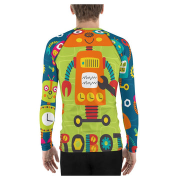 Zorg Robot Rash Guard