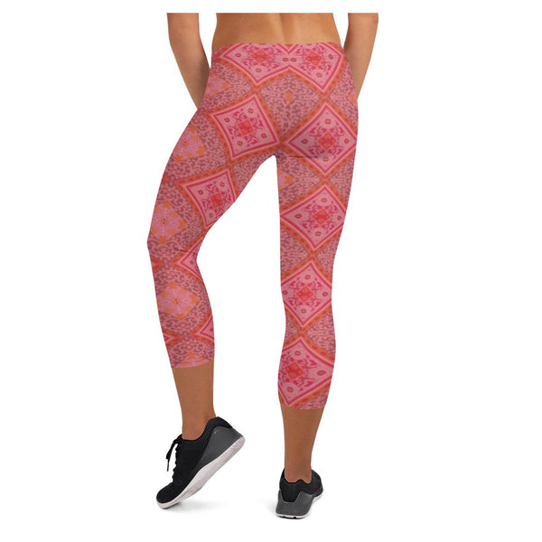 CanCan Girls Geo Capris - WhimzyTees