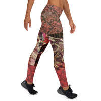 Onna Bugeisha Leggings, Leggings- WhimzyTees
