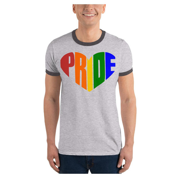 PRIDE Ringer T-Shirt, Tee- WhimzyTees