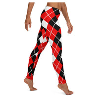 Boy BYE Harlequin Leggings, Leggings- WhimzyTees