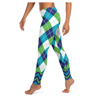 Boy BYE Aventurine Leggings, Leggings- WhimzyTees
