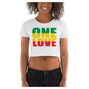 One Love Crop Tee