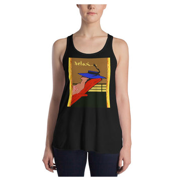 Relax Go To IT! Racerback Tank (V2)