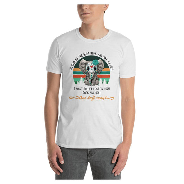 Elephant Beat Drum Tee, Tee- WhimzyTees