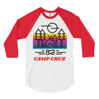 Camp Cruz Baseball Tee, Baseball Tee- WhimzyTees