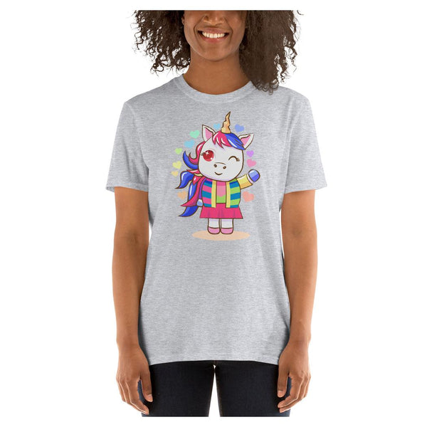 Tippietoes Unicorn Tee, Tee- WhimzyTees