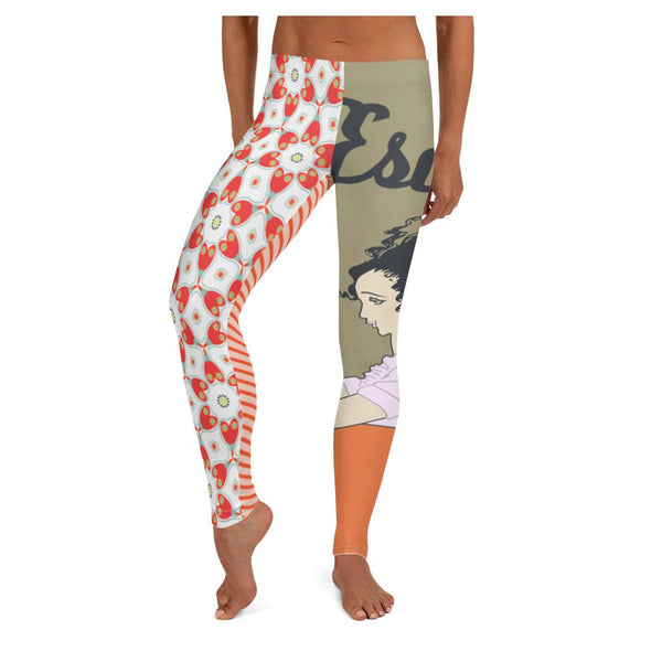 The Great Escape Leggings, Leggings- WhimzyTees