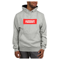 Hashtag Goodlife Hoodie (Champion), Hoodie- WhimzyTees