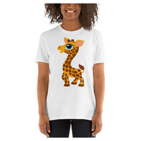 Zoo Party Giraffe Tee, Tee- WhimzyTees