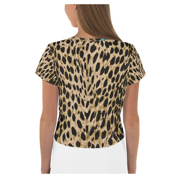 Wild and Free AOP Crop Top