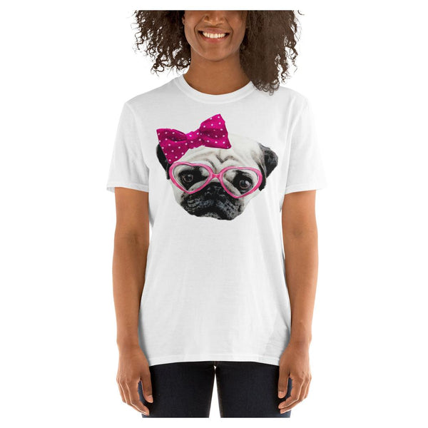 Puggy Princess Tee, Tee- WhimzyTees