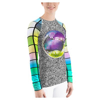 All That Glitters Rash Guard, Rashguard- WhimzyTees