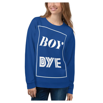 Boy BYE Sweatshirt (Royal)