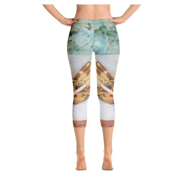 Bluebell Fairy Capris, Capris- WhimzyTees