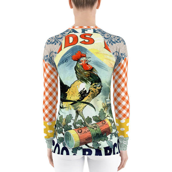 Le Gaulois Rash Guard, Rashguard- WhimzyTees