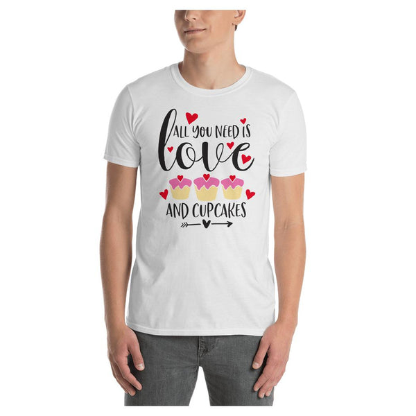 Love & Cupcakes Tee, Tee- WhimzyTees