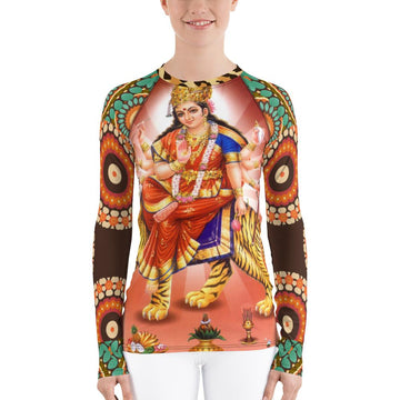 Divine Durga Rash Guard