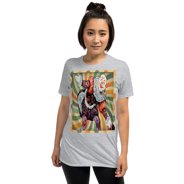 Court Jester Tee (Russet), Tee- WhimzyTees