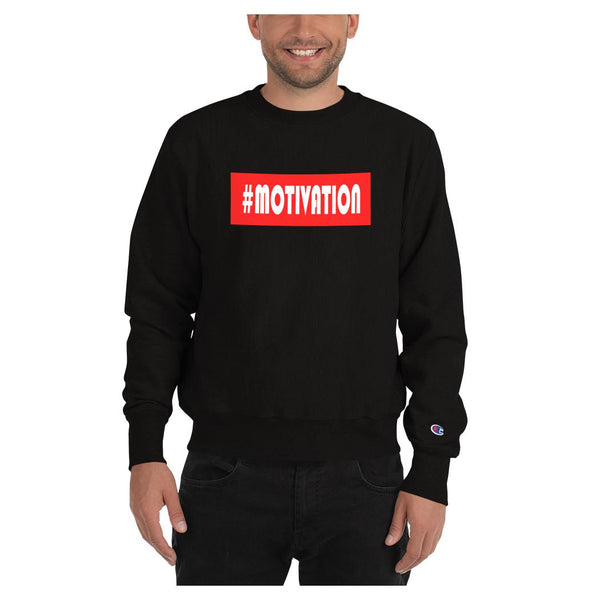 Hashtag Motivation Sweatshirt (Champion) - WhimzyTees